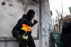 Heavy Riots In Kiev, Ukraine