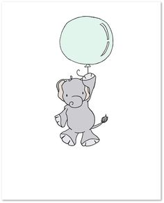 Elephant Nursery Art : You can CUSTOMIZE this print to any colors you choose, either from the color chart or a picture or link, just let me know and I can create a custom listing for you! *Be sure to select your size in the drop down box above. Here at Sweet Melody Designs we love creating cute art for your little ones rooms. We believe in encouraging the imagination of children and giving them a beautiful place to grow up. It is our hope that our art can have a small part in that…