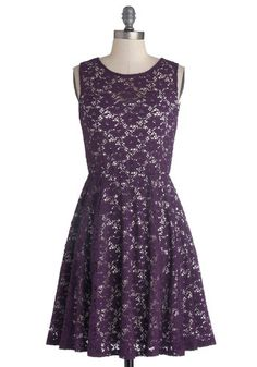 Topiary Artist Dress in Plum, #ModCloth