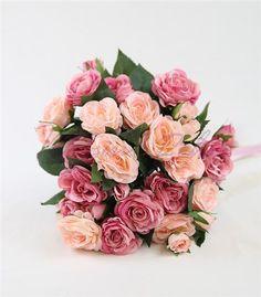 Gelin Çiçeği Pembe Güller