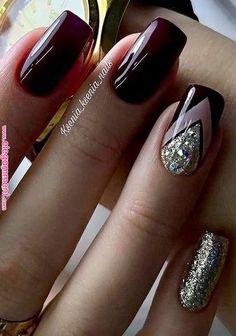 - # Nails - www. – # Nails www. Elegant Nails, Classy Nails, Fancy Nails, Stylish Nails, Trendy Nails, Diy Nails, Nail Nail, Acrylic Nail Designs, Nail Art Designs