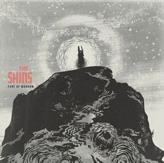 Jacob Escobedo. New cover for THE SHINS  Port of Morrow