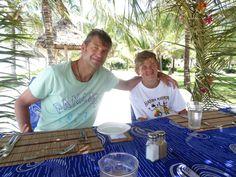 Father and son - Zanzibar