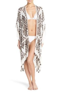 Nordstrom Fringed Swim Cover-Up available at #Nordstrom