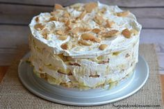 You'll Need: 8 inch springform pan pudding mix Print Banana Ice Box Cake   Ingredients 1 box Nilla wafers 1 cup milk 1 box banana pudding prepared according to box directions 3-4 cups Cool Whip 4-5 sliced bananas Instructions Use an 8 inch springform pan. Dip each cookie quickly in the milk. Layer Nilla wafers …