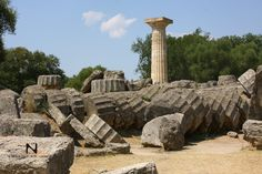 Temple of Zeus, Ancient Olympia, Greece