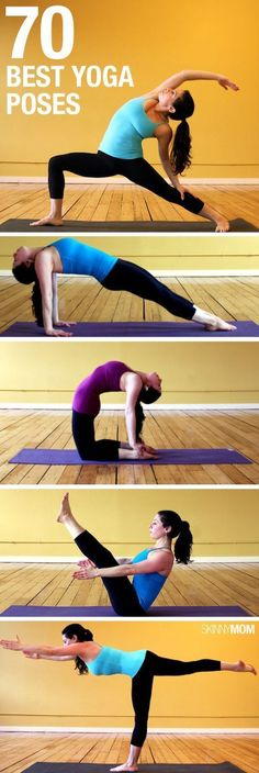 Looking to try out some yoga? Start here for 70 different poses to get you started and find your zen! | Popculture.com