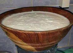 Calebasse du lait du chamelle