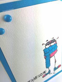 Sissi's kreatives Kämmerlein: Monsterkarten