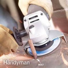 How to Use an Angle Grinder | The Family Handyman