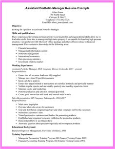 qualification examples for resume