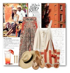 """Mexico Vacation"" by brendariley-1 ❤ liked on Polyvore featuring Etro, Bilitis dix-sept ans, Sole Society, Karen Walker and Chloé"