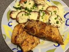 Hungarian Recipes, Light Recipes, Salmon, Food Porn, Pork, Food And Drink, Low Carb, Chicken, Cooking