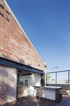 Converted Warehouse in Fitzroy / Andrew Simpson Architects
