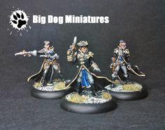 Cygnar Black 13th Gun Mage Strike Team