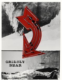 Grizzly Bear Gig Poster by Decoder Ring Festival Posters, Concert Posters, Gig Poster, Band Posters, Cool Posters, Music Posters, Graphic Design Posters, Graphic Art, Decoder Ring