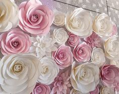 Large Paper Flowers Wedding Decoration Ideas от MoniquePaperArt