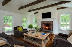 Massachusetts Farm House by Crisp Architects