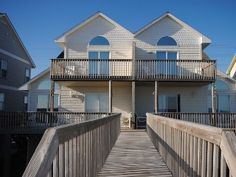 Fivebuoys-South: Beautiful, Comfortable, Dog Friendly DuplexVacation Rental in North Topsail Beach from @homeaway!