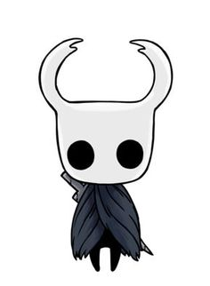 Hollow Knight Official Art—The Knight Creepy Drawings, Dark Art Drawings, Pencil Art Drawings, Cartoon Drawings, Cartoon Art, Cute Drawings, Knight Drawing, Knight Art, Horror Drawing