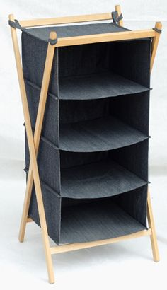 Blue. Sweater StorageWood ShelvesShelving