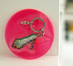 High‐heeled shoes Key Ring by Yayoi Kusama