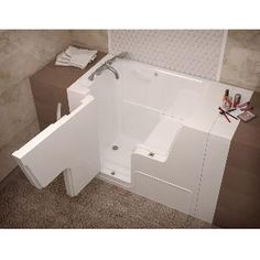 1000 Images About Walk In Tubs On Pinterest Whirlpool Tub Grab Bars And Jets