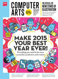 #Computer #Arts Magazine 235. Everything you need to be more successful, productive and creative!