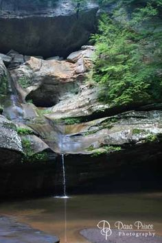 Hocking Hills, Ohio - Got engaged at Conkel's Hollow in August 2003. <3
