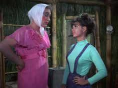 Gilligan's Island - the professor dressed as a woman