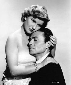 """Barbara Bel Geddes & James Mason  """"Caught""""  (1949)"""