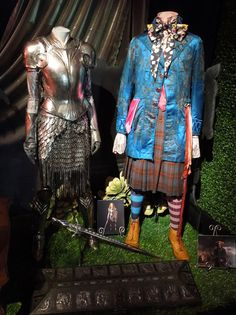 Original costumes and props from Tim Burton's Alice in Wonderland on display...