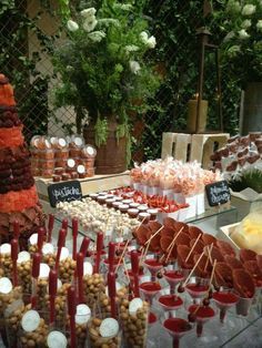 Mexican dessert table
