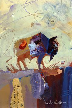 Bison original painting