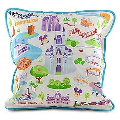 HOLY WALT! I want this. Just a mere $63 for a throw pillow. meh. Walt Disney World Pillow by Shag