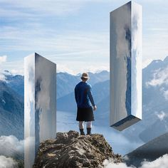 Landscape Mirrors: Surreal Photo Manipulations By Rigved Sathe