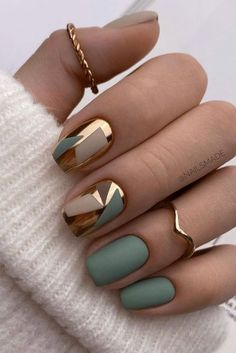Best Acrylic Nails, Acrylic Nail Designs, Matte Nails, Nail Art Designs, Nails Design, Dark Nail Designs, New Nail Art Design, Stylish Nails, Trendy Nails