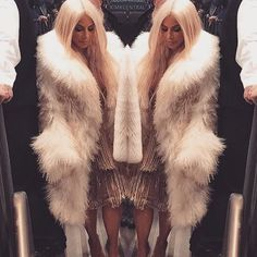 Kim Kardashian West Takes the Platinum Plunge (Again!) for Yeezy's Season 3 Show