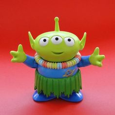 disney store toy story action figure: hawaiian vacation alien (2012) | Flickr - Photo Sharing!