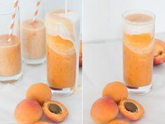 Nektarinen-Aprikosen-Mango Smoothie (mit Buttermilch) – der perfekte Smoothie für Bananen-Hasser