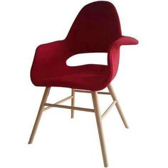 Dyro Accent Chair Red