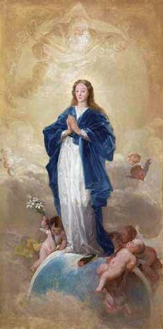 Francisco de Goya. Inmaculada Concepción.