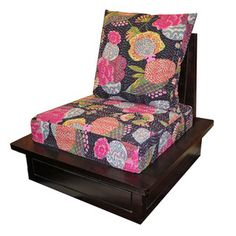 Mélange Home  Kantha Floral Chair Multi now featured on Fab.