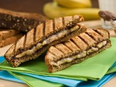 Forget peanut butter: This Nutella-banana sandwich is the ultimate after-school snack. #back2school