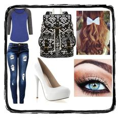 """""""Untitled #4"""" by ajlamiftari on Polyvore"""