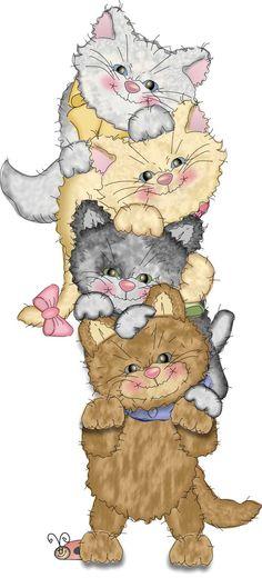 KITTY CATS CLIP ART