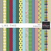 Like This Papers Kit | digital scrapbooking | favorites, boys