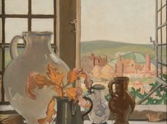 Sir Frank Brangwyn, From My Window At Ditchling c.1925