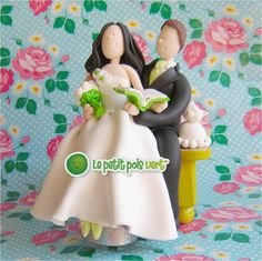 ... about FIGURINES DE MARIAGES on Pinterest  Figurine, Fimo and Mariage