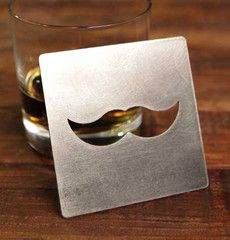 Special: The amount donated from this item will go directly to the Movember Foundation durring November. Learn more at the Movember Foundation site. Protect every table with a BOTTLE opener COASTER Th